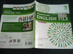 文瑄書坊 American ENGLISH FILE 3 9780194776172  七成新