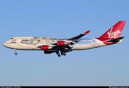 JC Wings 維珍航空 Virgin Altantic B747-400 星際大戰 G-VLIP 1:400