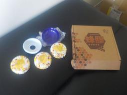 107年6220岳豐股東會紀念品蘭麗蜂膠保濕柔膚皂(香皂90gX3+皂盤X1)