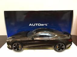 (展示車出售)AUTOart Aston Martin Vanquish S 1/18 棕色