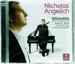 【正價品】安傑利希(鋼琴) // 布拉姆斯:兩首鋼琴協奏曲 ~雙CD、歐版 - 華納唱片、2014年發行
