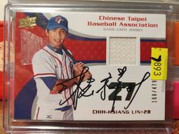 (記得小舖)林志祥 2008 Panini USA 親筆簽名RC球衣卡 限量479張 絕版值得收藏 台灣現貨