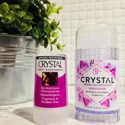 麥窩の鋪 現貨 Crystal Body Deodorant stick礦物鹽無味 除汗臭 止汗石 止汗水晶(120g)