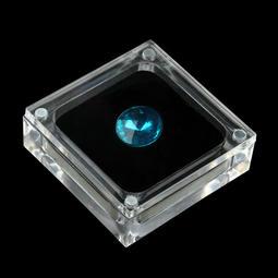 5.5*壓克力磁鐵裸石盒/珠寶盒/裸鑽盒有機玻璃展示架首飾盒鑽石飾品盒/戒面展示盒/戒面盒/吊墬盒/戒指盒/鑽石盒墬子盒