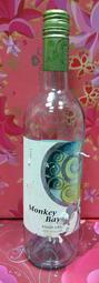 """還不錯滴♡♥~D242~紐西蘭猴灣灰皮諾白葡萄酒""""空酒瓶""""750ml~♥♡~426g~"""