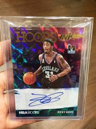 [J.K收藏館]NBA 熱火.騎士.灰狼場均20.6分5.5助攻5.5籃板全能搖擺人Ricky Davis 簽名球員卡!