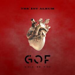 【寫真冊+寫真卡】G.O.F. / Girls On Fire 首張同名專輯CD 台灣正版全新109/10/1 烈焰之心