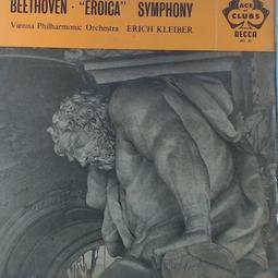 【張大韜黑膠】英版古典-Decca/ACL 35/貝多芬:英雄交響曲/埃里希克萊伯-維也納愛樂樂團