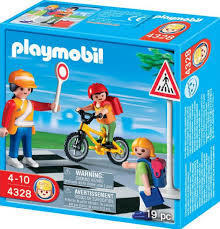 【ilovemobil】Playmobil#4328 導護老師 (盒裝) 。特惠價。