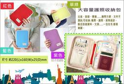 【生活物語】A084大容量護照收納包 文具收納 出國飯店資料收納 筆記本 包中包