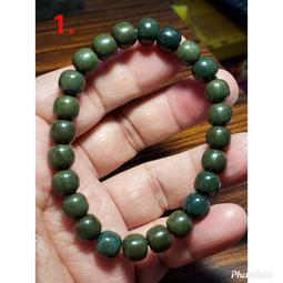 阿拉善 手鍊 手環 老形珠 8mm+ 天然❤水晶玉石特賣#C030-2