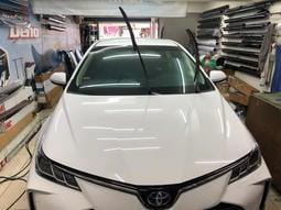 Toyota Altis 全新車。多元化計程車全車貼克雷安計程車專用隔熱紙。透光度80符合驗車法規。特價8000