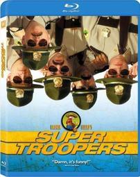 [藍光小舖][現貨] 烏龍巡警 Super Troopers 藍光限定版 [台式繁中字幕]