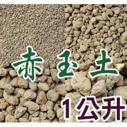 【全館490免運】日本-赤玉土1公升樣品包~ 排水性佳、通性性佳、適合盆栽植物、小品盆景、東洋蘭、觀音竹