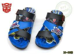 ☆917生活便利屋☆【兒童勃肯拖鞋】變形金剛 TF10052黑色 兒童勃肯拖鞋 台灣製造MIT╭☆