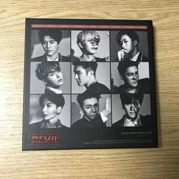 【二手韓語CD】Super Junior - Special Album『DEVIL』