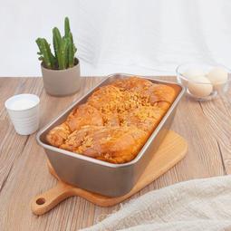 長方形不沾芝士吐司模具 不粘土司盒 烤箱烘烤750g麵包烤盤【RORO】