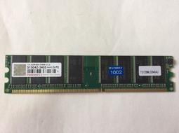 創見 Transcend 1GB 記憶體 DDR 400 1G 終身保固 PC-3200 良品