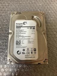 【二手硬碟使用時數少】希捷 企業碟 2TB / 3.5吋 S-ATAIII界面 / 64MB快取 / 7200轉 /無聲