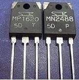 [二手拆機][含稅]原裝進口拆機 MP1620 MN2488 音訊功放IC配對管