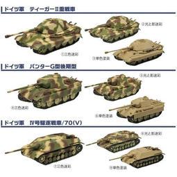 F-Toys 日版盒玩 1/144 世界坦克博物館 Vol.4 德軍機甲師團 1944 基本9款合售 特價