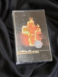 瑪莉蓮曼森  Marilyn manson 錄音帶 卡帶  ★