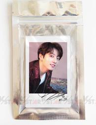 【K-S】 BTS 防彈少年團 柾國 JungKook 印刷簽名LOMO相片組 (G) 一組20張 小卡