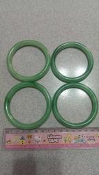 高擬真翡翠手鐲、玉手鐲、玉鐲子、玉鐲 , (內徑約61mm)(1支120元)