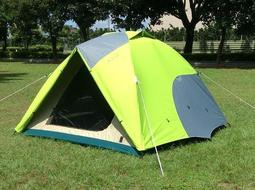【SAMCAMP 噴火龍】超優品質 # 豪華 5~6人雙門銀膠蒙古包帳篷(三代版) - 外型類似 LOGOS 270