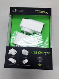 PLUGO USB Charger 環球通旅行萬用USB充電器 1A輸出 USB53WH