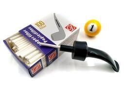 ◤球球玉米斗◢ 3MM紙濾芯 菸斗專用 每盒100支裝