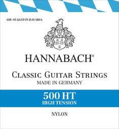 【恩心樂器批發】德國製 HANNABACH 500HT 古典吉他弦 尼龍弦 高張力 公司貨原廠包裝