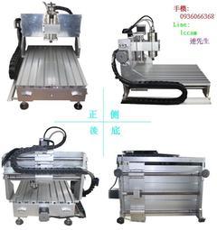台灣代理 3040圓軌電腦數控雕刻機 小型 CNC 木工廣告雕刻機 模型 銅鋁 DIY 基本操作教學 保修一年 水泠主軸