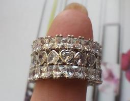 現貨優惠 泰國皇室御用~ 【包賺】心型鋯石戒指