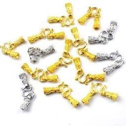 佛牌鍊專用純色琺瑯扣頭(請告知金色或銀色)