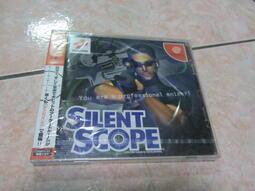 全新未拆原版DC 遊戲片 SILENT SCOPE 沉默狙擊手