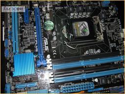 JULE 3C會社-華碩ASUS B75M-PLUS B75/DDR3/數位電源/保內/uATX/1155 主機板