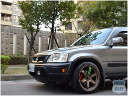 CRV  RD1 JDM SUV LOWDOWN 休旅車 六六車庫