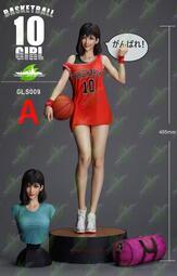 『胖虎館』代購 2021年 第一季 綠葉 灌籃高手 1/4 籃球少女 赤木晴子 寫實版 GK 雕像 完成品