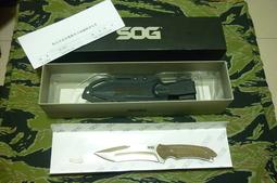 SOG Kiku-Small Fixed Satin(KU-2001)直刀