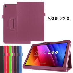 【GooMea】2免運ASUS華碩 ZenPad 10 10.1吋 Z301MF平板皮套 紫色保護套保護殼追劇神器