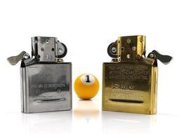◤球球玉米斗◢ 正品 美國 ZIPPO打火機 內膽機芯 燃油機心 (金、銀2色可選)