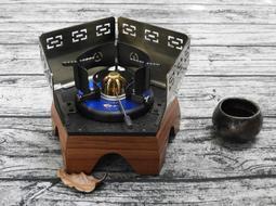 魚骨汽化爐 小禪風 低爐系列 原價4200元 茶藝 茶席 汽化爐 休閒爐 酒精爐 瓦斯爐 高山爐 露營 茶具
