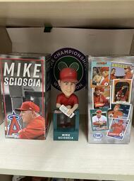 2018 MLB 洛杉磯 天使 總教頭 MIKE SCIOSCIA  球場紀念