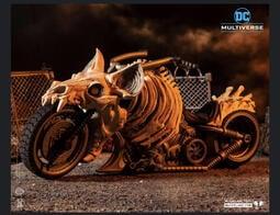 【史派克工廠】12月預購 麥法蘭 DC Multiverse 7吋 黑暗之夜 死亡金屬 蝙蝠車 機車 0914