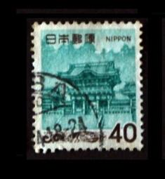 日本 Japan 1969 Yomei Gate, Nikko  日光市 陽明門