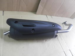 金豪邁/豪邁/奔馳/迪爵/高手125(小哈姆)  加大口徑  回壓排氣管  尾管下壓<前後白鐵加速管>化油