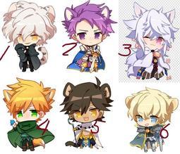 【八百萬堂】Fate/Grand Order/動物型版/Q版 壓克力 吊飾 /透明雙面(預購版)