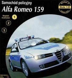 《紙模家》Alfa Romeo 159  1/25 紙模型套件免運費