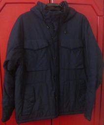 GAP 鋪棉 保暖 防風 多功能 機能外套 登山連帽外套 (XL)
